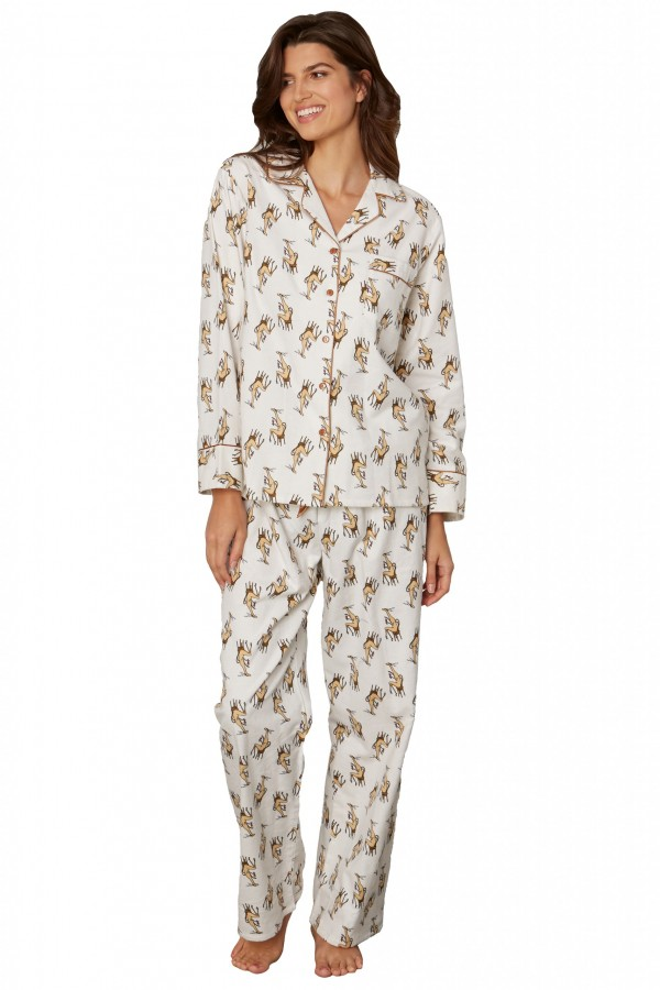 Kayanna flannel pajama set