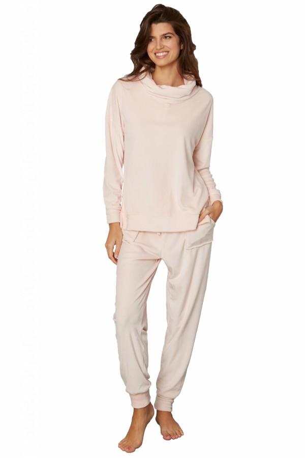 Kayanna Cowl Neck Pajama Lounger