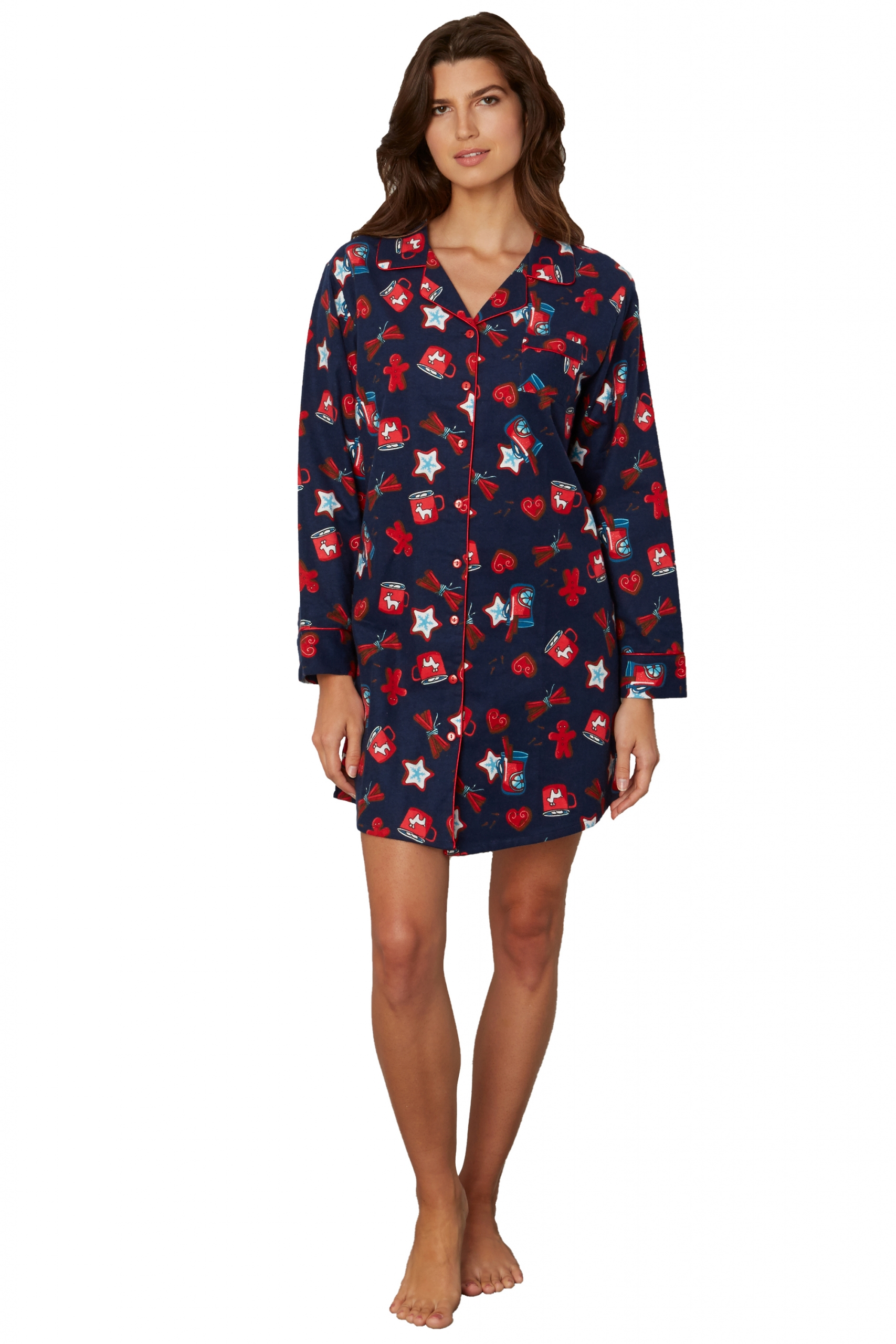 Kayanna Flannel Nightshirt