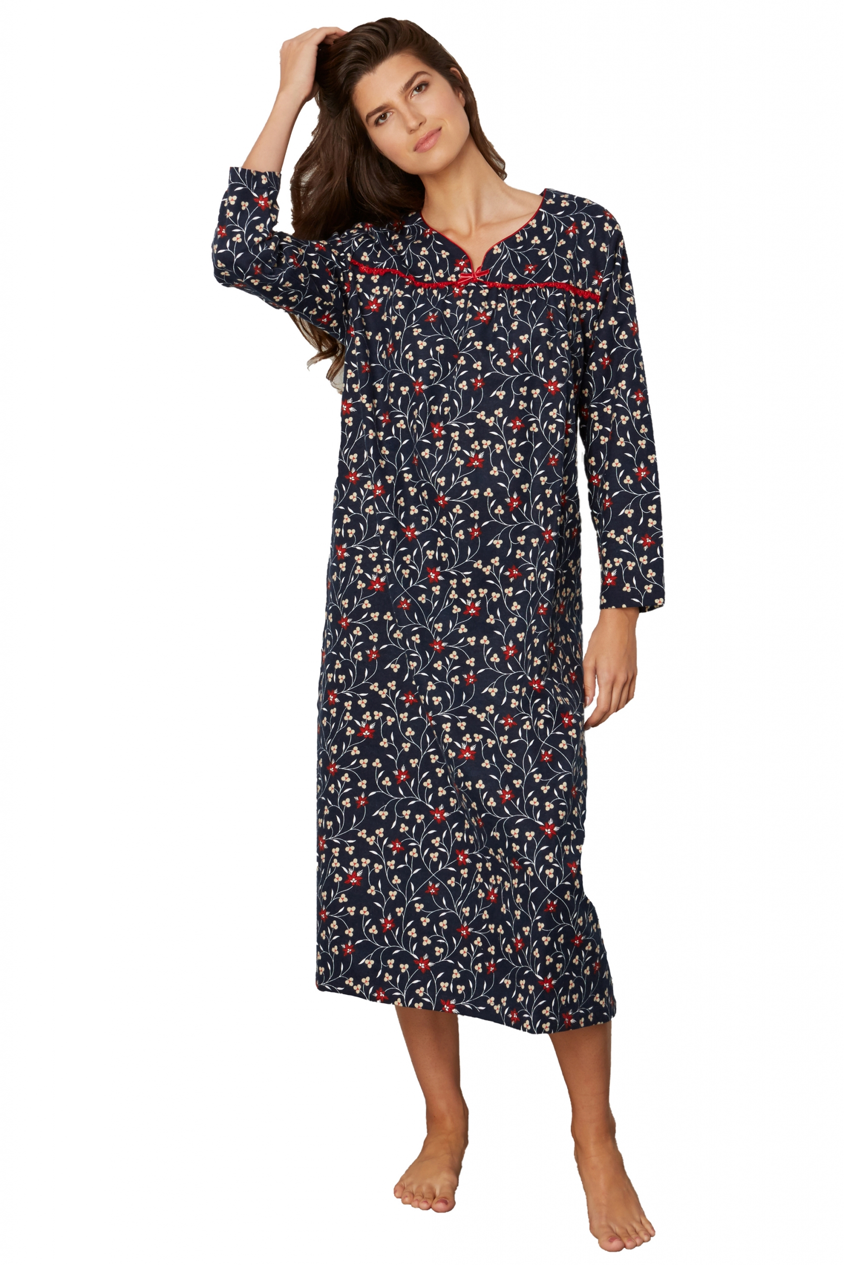 Kayanna Flannel Nightgown