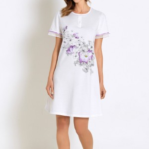 Kayanna Linclalore Cotton Nightshirt