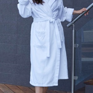 Kayanna Hooded Terry Velour Robe