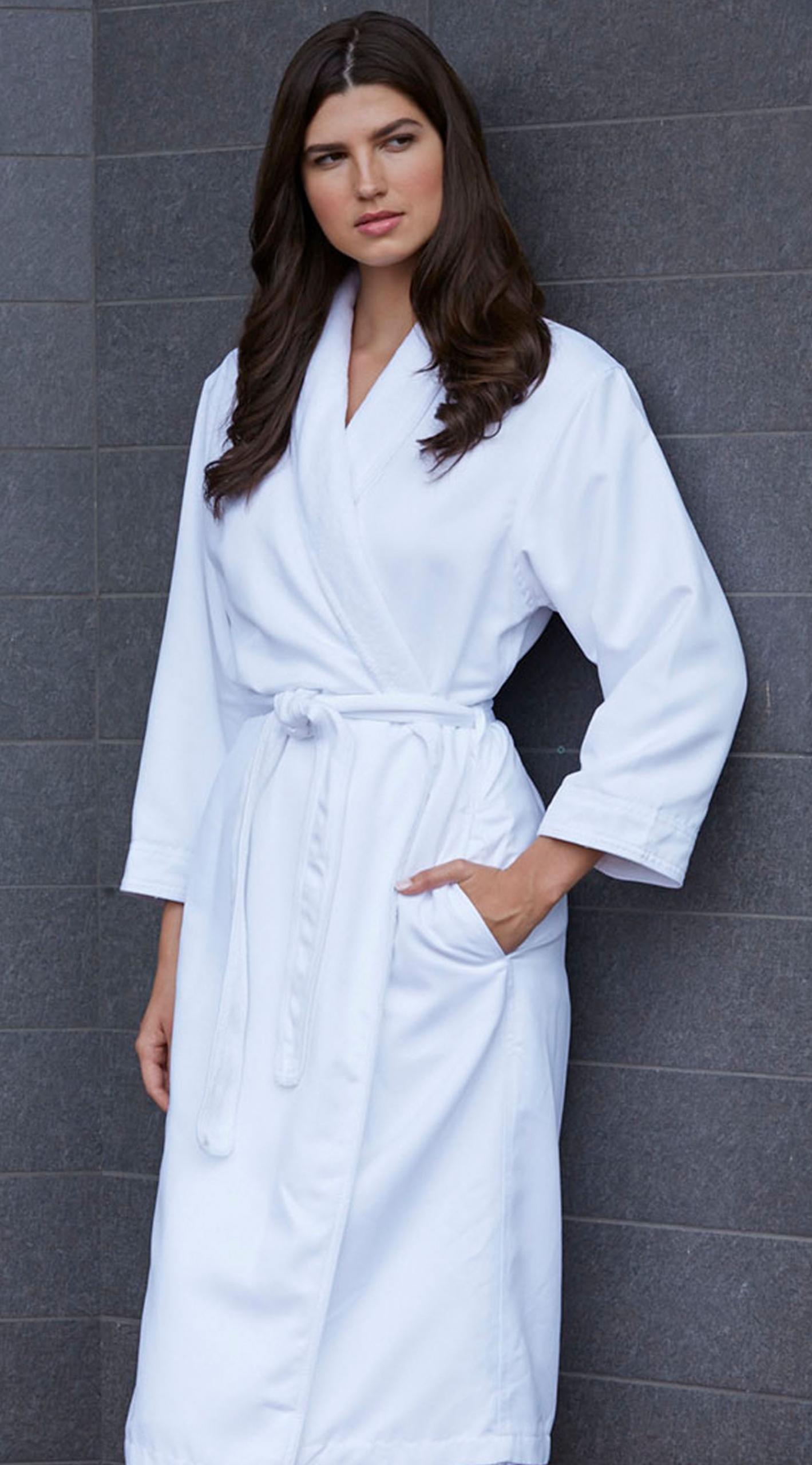 Kayanna Microfiber Shimmer Lined Robe