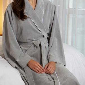 Kayanna Lux Diamond Microfiber Robe